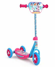 My Little Pony 3 Wheel Scooter With Adjustable Handlebar Height - Blue Pink