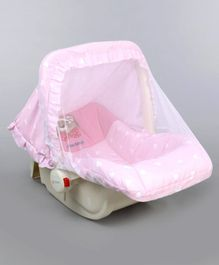 1st Step 5 in 1 Carrycot Cum Rocker Multi Print - Pink