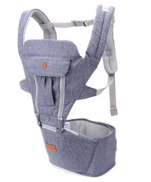 1st Step 5 in 1 Hip Seat Carrier - Denim Blue