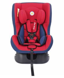 1st Step Convertible Car Seat With 5 Point Safety Harness - Red