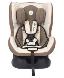 1st Step Convertible Car Seat With 5 Point Safety Harness - Brown