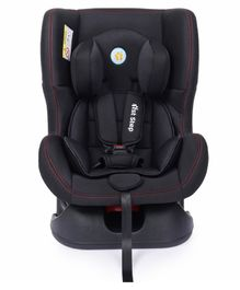 1st Step Convertible Car Seat With 5 Point Safety Harness - Black