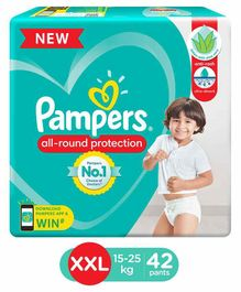 Pampers Pant Style Diapers XXL Size - 42 Pieces