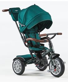 Bentley Baby Tricycle with Canopy & Adjustable Recline - Green