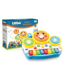 Little's Drum Keyboard Musical Piano Toy - Multicolor