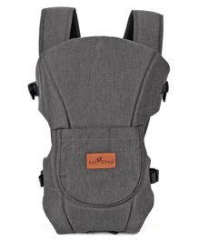 1st Step 3 Way Carrier With Adjustable Padded Straps - Dark Grey