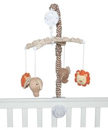 Abracadabra Cot Mobile With Plush Hanging Toys - Multicolour