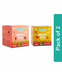Timios Apple Kiwi & Nuts Berries Mini Oaty Bites Pack of 2 - 8 Bites each