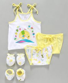 Ohms Clothing Gift Set Yellow - Pack of 5