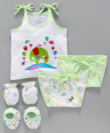 Ohms Clothing Gift Set Green - Pack of 5
