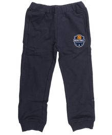 Wear Your Mind Full Length Basketball Patch Lounge Pants - Blue