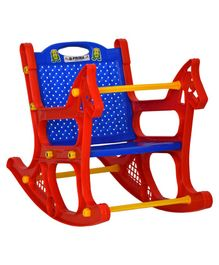 Prima Baby Rocker Chair Design - Red & Blue