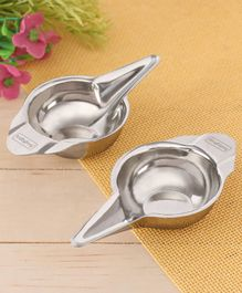 Babyhug Baby Stainless Steel Feeders Pack of 2 - 20 ml Each