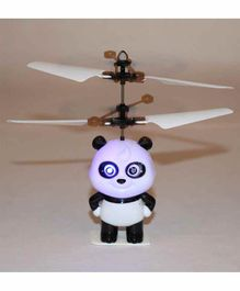 Planet of Toys Infrared Induction Panda Aircraft Toy - White