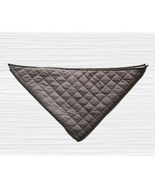 CuddlyCoo Quilted Cotton Playmat - Grey