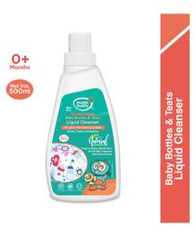 Buddsbuddy Baby Bottles and Teats Liquid Cleanser - 500 ml