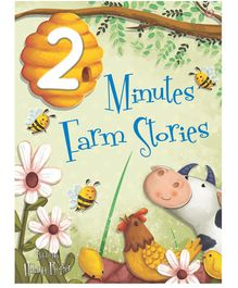 Buttercup Publishing UK 2 Minutes Farm Story Book by Hilary Roper - English