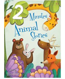 Buttercup Publishing UK 2 Minutes Animals Story Book by