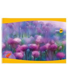 Youva Soft Bound Drawing Book with Fruit Painted Cover 100 Pages - Pack of 12