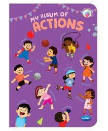 Navneet My Album of Actions Book - English