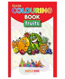 Maple Press Little Colouring Book Fruits - English