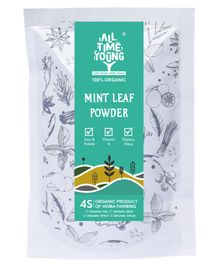 All Time Young Homa Organic Mint Tea Powder - 50 gm