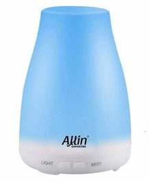 Allin Exporters DT-1508C 2 in 1 Ultrasonic Humidifier & Essential Oil Aroma Diffuser - 100 ml