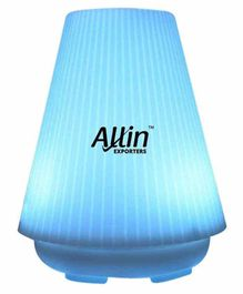 Allin Exporters DT-1508A  2 in 1 Ultrasonic Humidifier & Diffuser Blue - 100 ml