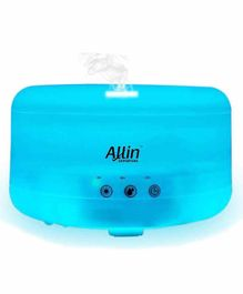 Allin Exporters DT-208 Touch-pad Ultrasonic Humidifier Blue  & Essential Oil Aroma - 1000 ml