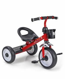 Sturdy & Comfortable Tricycle for Kids - Red