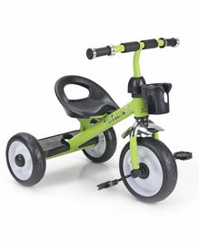 Sturdy & Comfortable Tricycle for Kids - Green