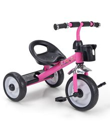 Sturdy & Comfortable Tricycle for Kids - Pink