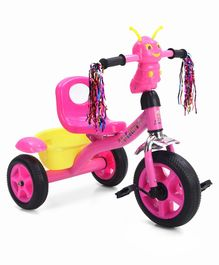 Tricycle with Rear Basket - Pink