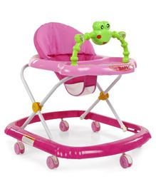 Baby Walker with Play Tray - Pink