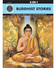 Amar Chitra Katha 5 in 1 Buddhist Stories By Anant Pai - English