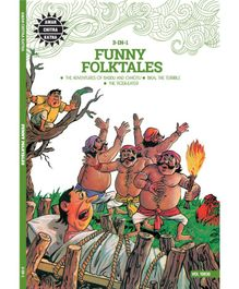 Amar Chitra Katha 3 in 1 Funny Folktales by Anant Pai - English