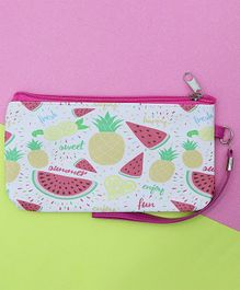 TMW Kids Fruit Printed Pouch - Pink