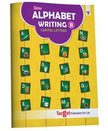 Target Publications Blossom English Alphabet Writing Book B - English