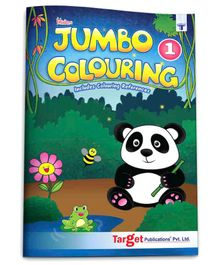 Target Publications Blossom Jumbo Creative Colouring Book A3 Size Level 1 - English