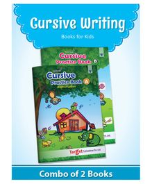 Target Publication Capital & Small Letters Cursive Practice Book - English