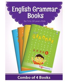 Target Publication Nurture Grammar & Composition Set of 4 Books - English