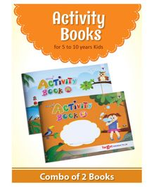 Target Publications Nurture Activity Books Pack of 2 - English