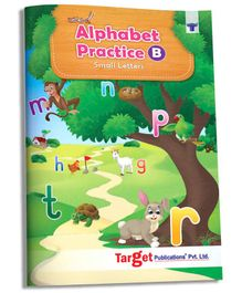 Target Publications Nurture Small Letter Tracing & Writing Practice Book - English