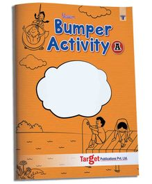 Target Publication Blossom Bumper Activity Book Part A 55 Fun Activities - English