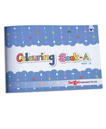 Target Publication Blossom Colouring Books Part A2 - English