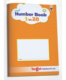 Target Publications Nurture Number Writing Books for Kids Part B - English