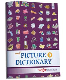 Target Publications Nurture Picture Dictionary Book for Kids Part B - English
