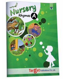 Target Publications Nurture English Popular Nursery Rhymes Book Part A - English