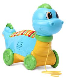 Leap Frog Lettarsaurus Musical Pull Along Toy - Multicolor
