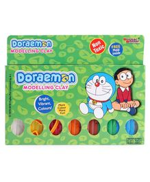 Doraemon Modelling Clay with Mold - 100 gm